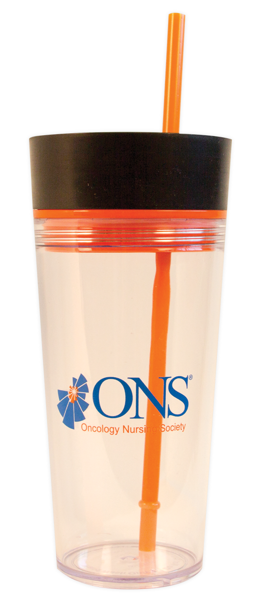 16 Oz. Acrylic Dual Lid Tumbler with Straw - Clear