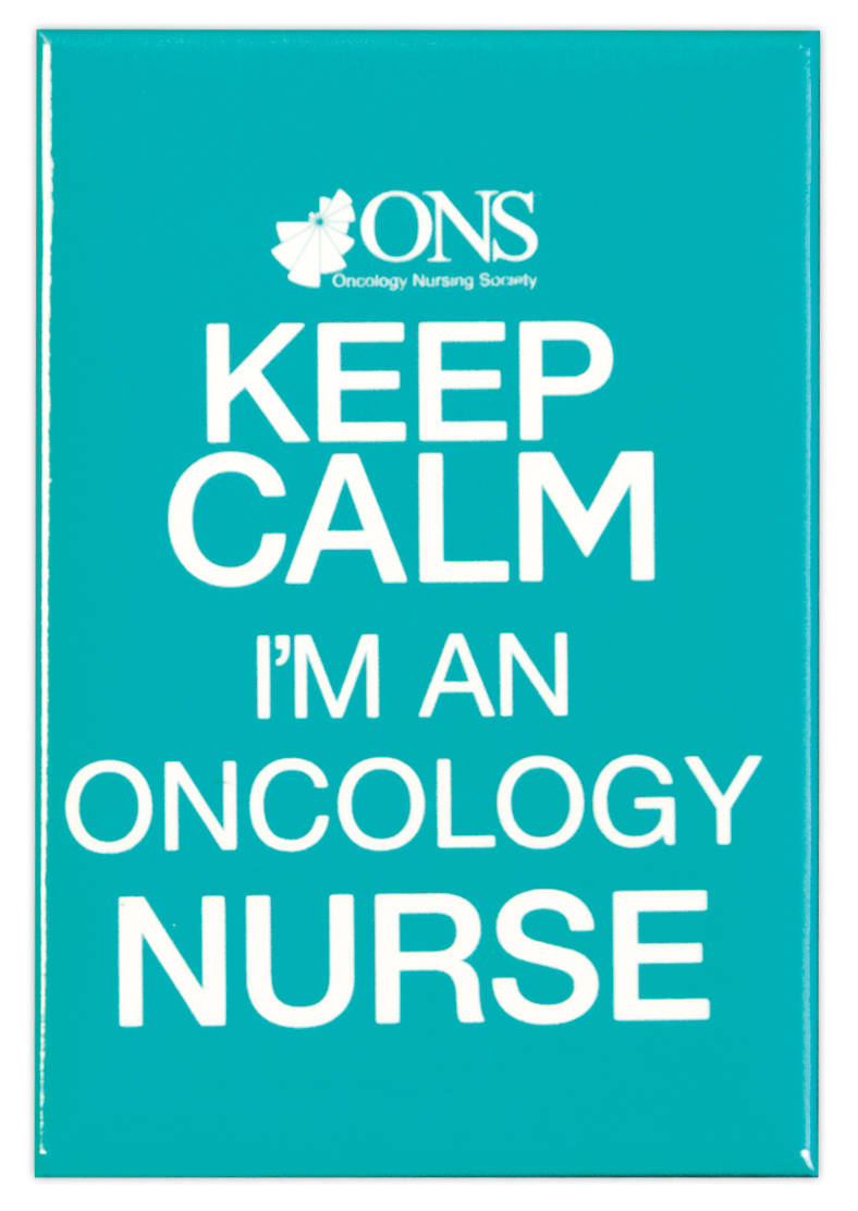 Keep Calm with your favorite magnet from ONS.  Teal.
