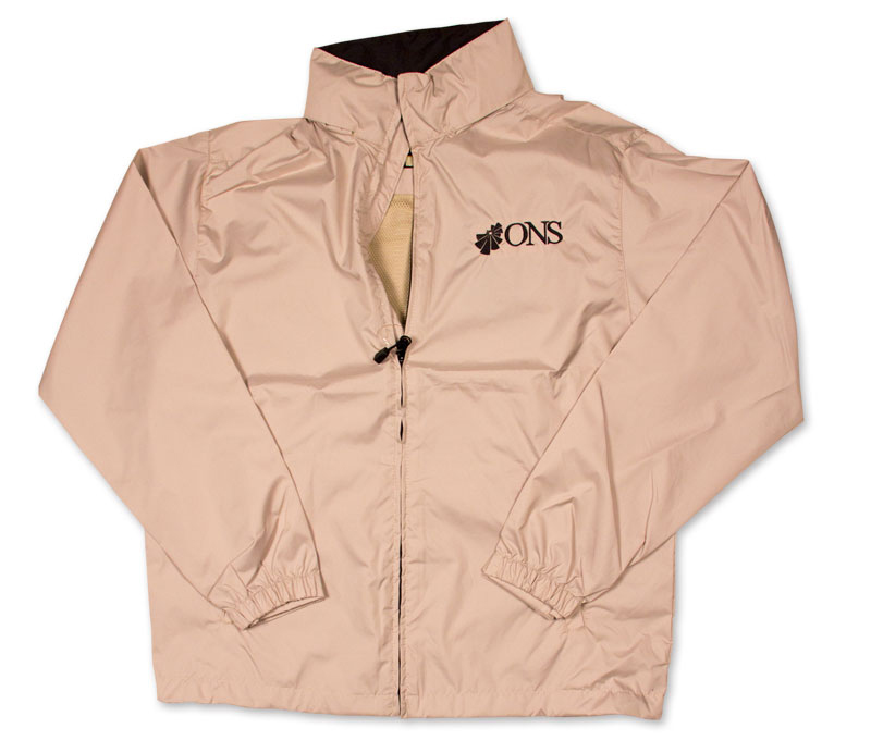 Jacket With ONS Logo - Putty