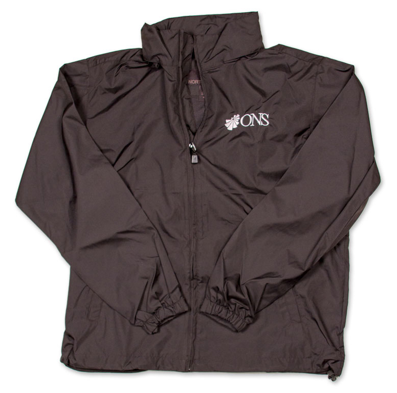 Jacket With ONS Logo - Black