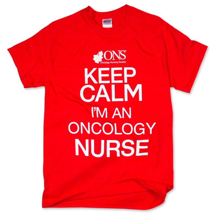 Keep Calm T-Shirt - Red