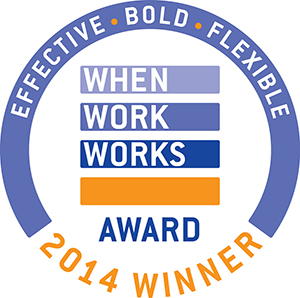 When Work Works 2014 Award