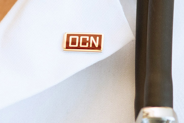 OCN certification pin