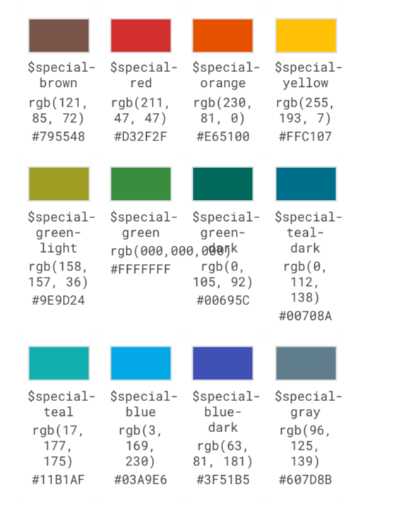 Guide Colors 2