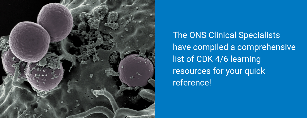 CDK4/6 Inhibitor Learning Library